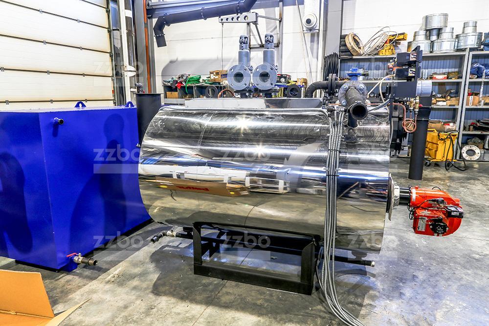Газовый парогенератор ПГ-500 на раме - фото 2