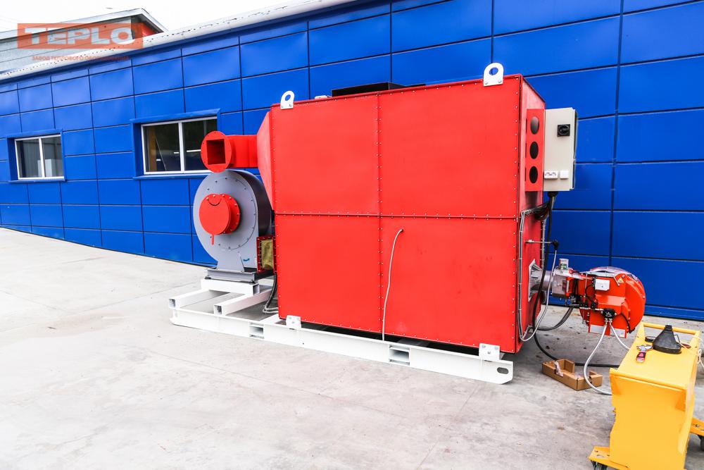 Газовый теплогенератор ТГВ-600 на раме - фото 20