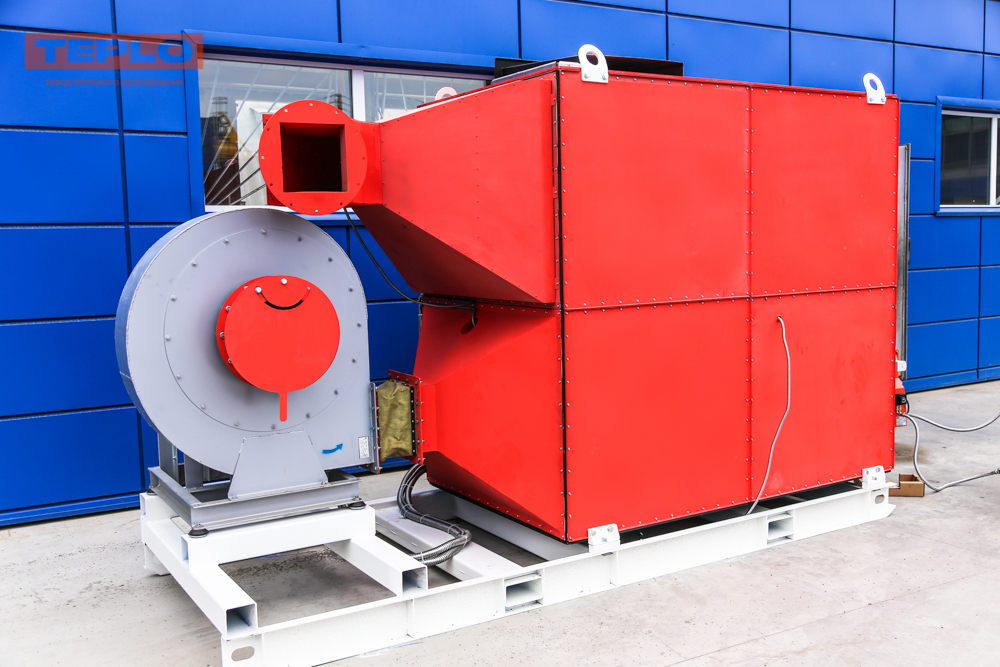Газовый теплогенератор ТГВ-600 на раме - фото 19