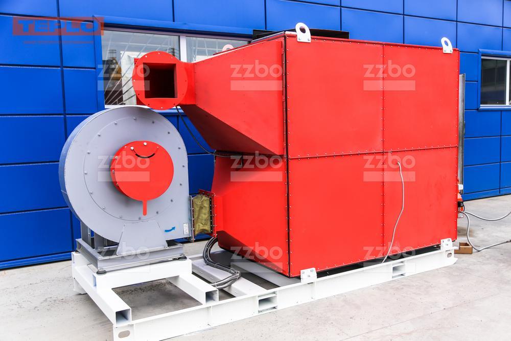 Дизельный теплогенератор ТГВ-800 </br>  в блок-контейнере - фото 18