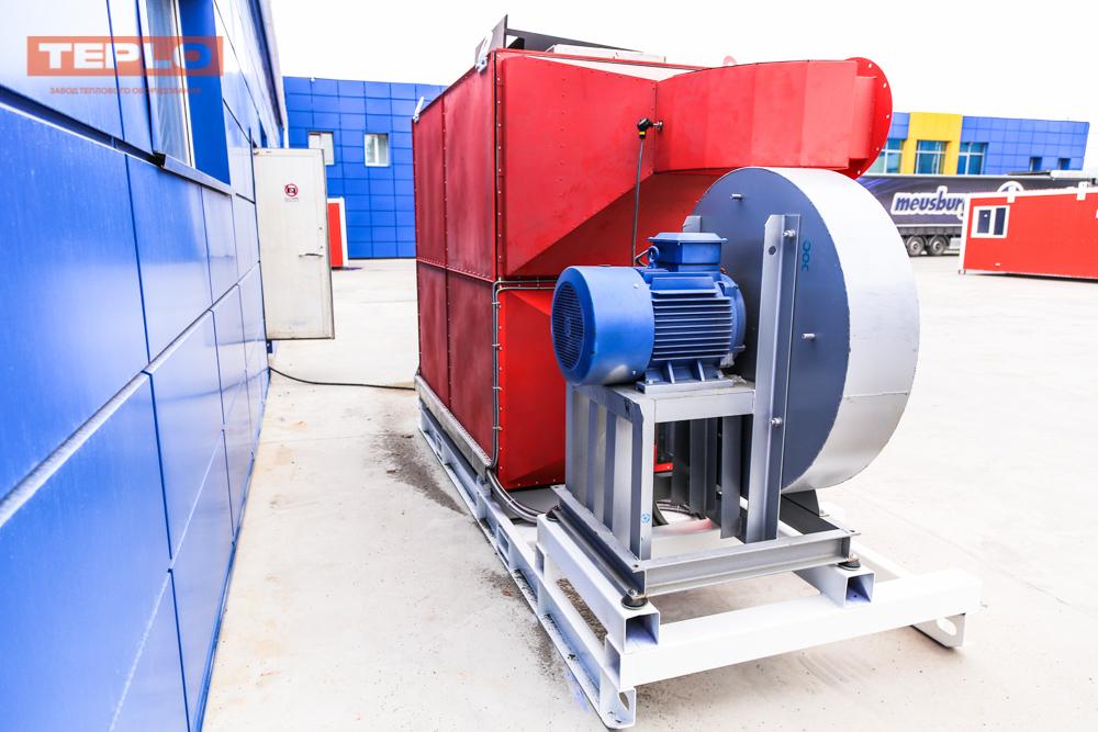 Газовый теплогенератор ТГВ-600 на раме - фото 17