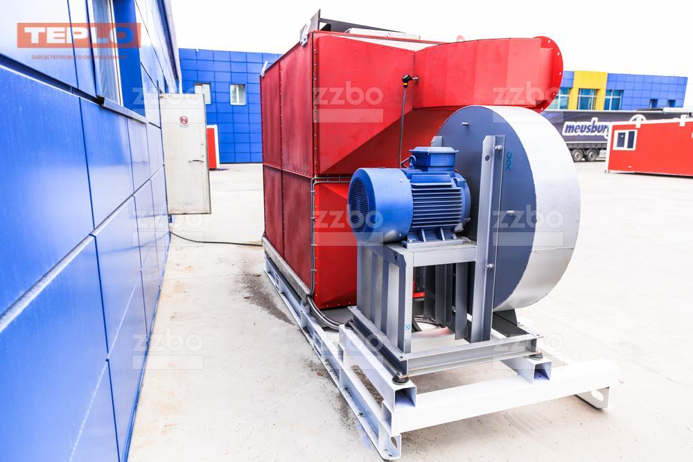 Дизельный теплогенератор ТГВ-800 </br>  в блок-контейнере - фото 16