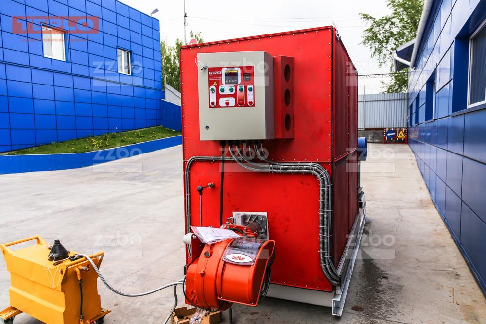 Дизельный теплогенератор ТГВ-800 </br>  в блок-контейнере - фото 15