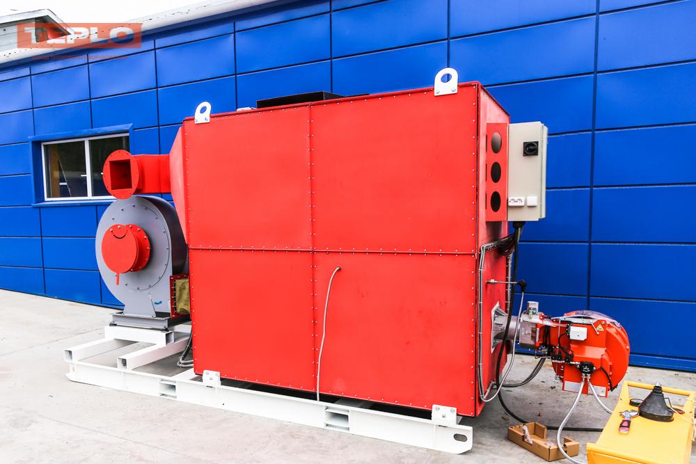 Газовый теплогенератор ТГВ-600 на раме - фото 15
