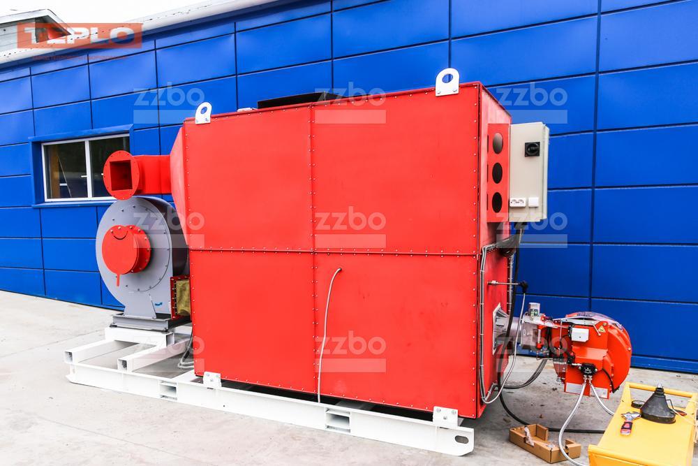 Дизельный теплогенератор ТГВ-800 </br>  в блок-контейнере - фото 14