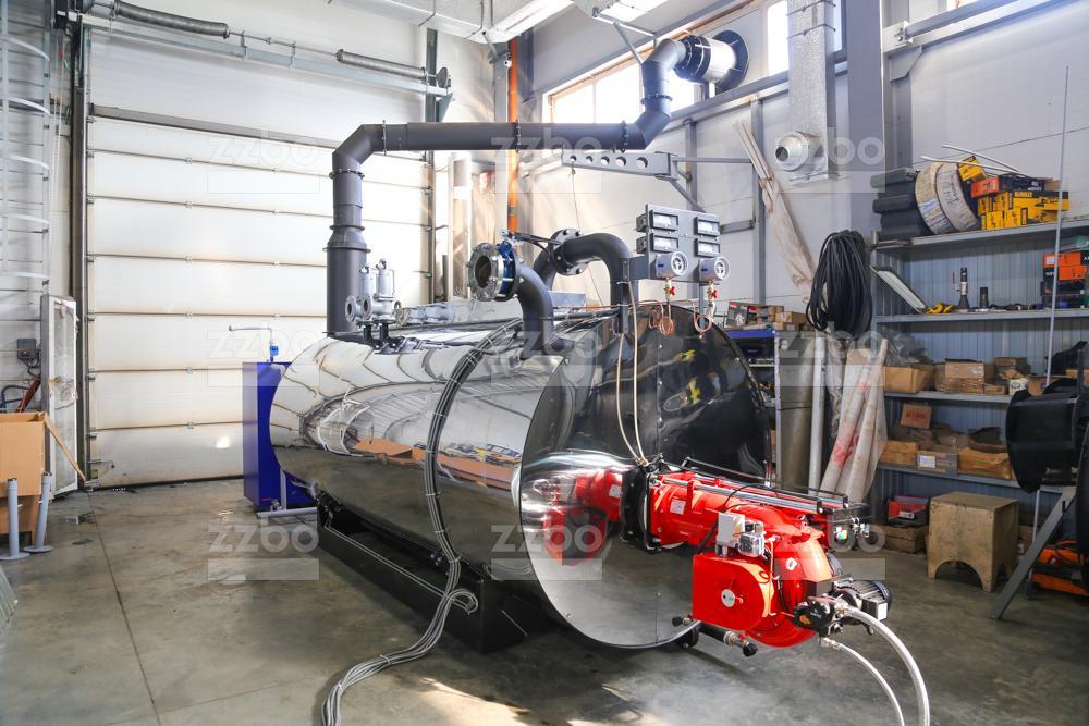 Газовый парогенератор ПГ-2000 на раме - фото 14