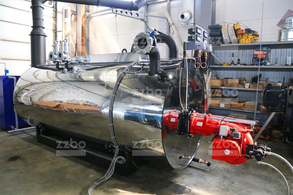 Дизельный парогенератор ПГ-2000 на раме - фото 12