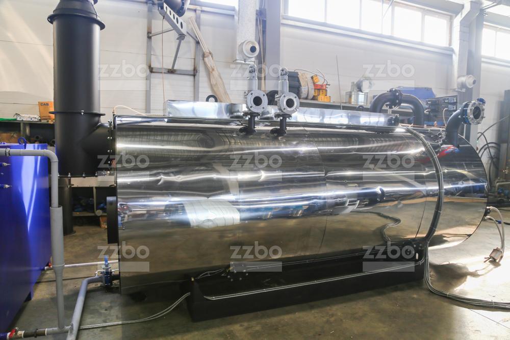 Дизельный парогенератор ПГ-2000 на раме - фото 11