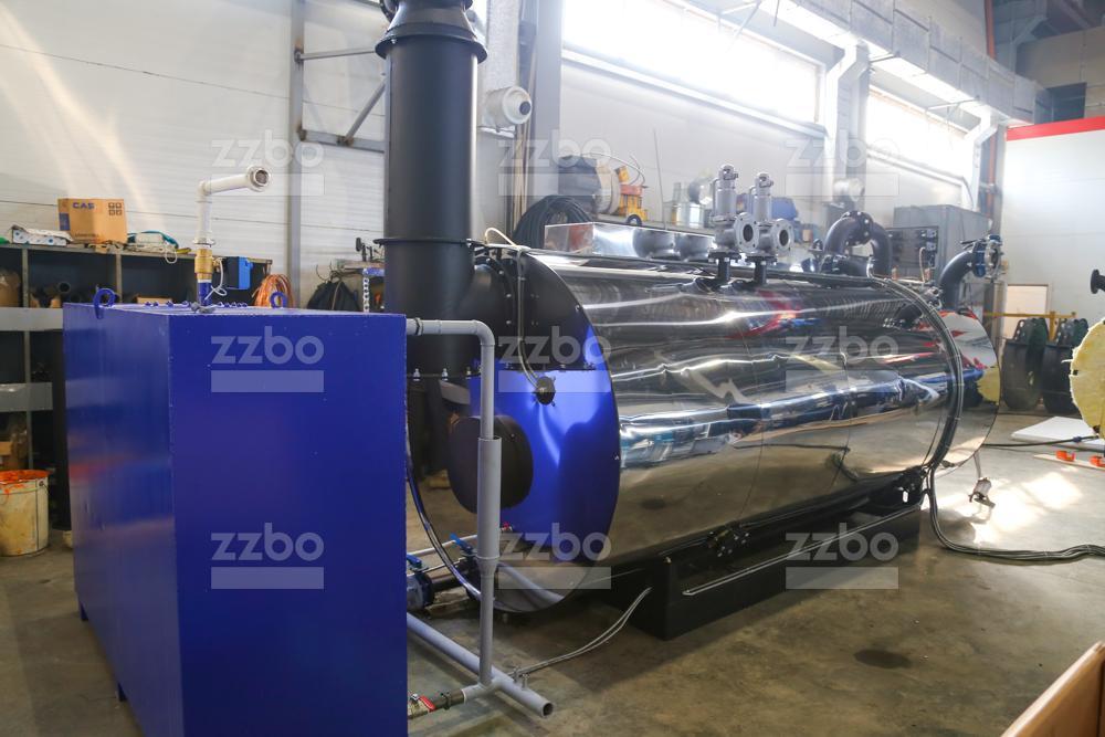Дизельный парогенератор ПГ-2000 на раме - фото 10