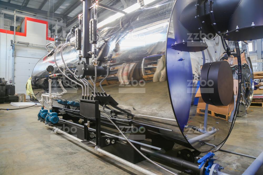 Дизельный парогенератор ПГ-2000 на раме - фото 8