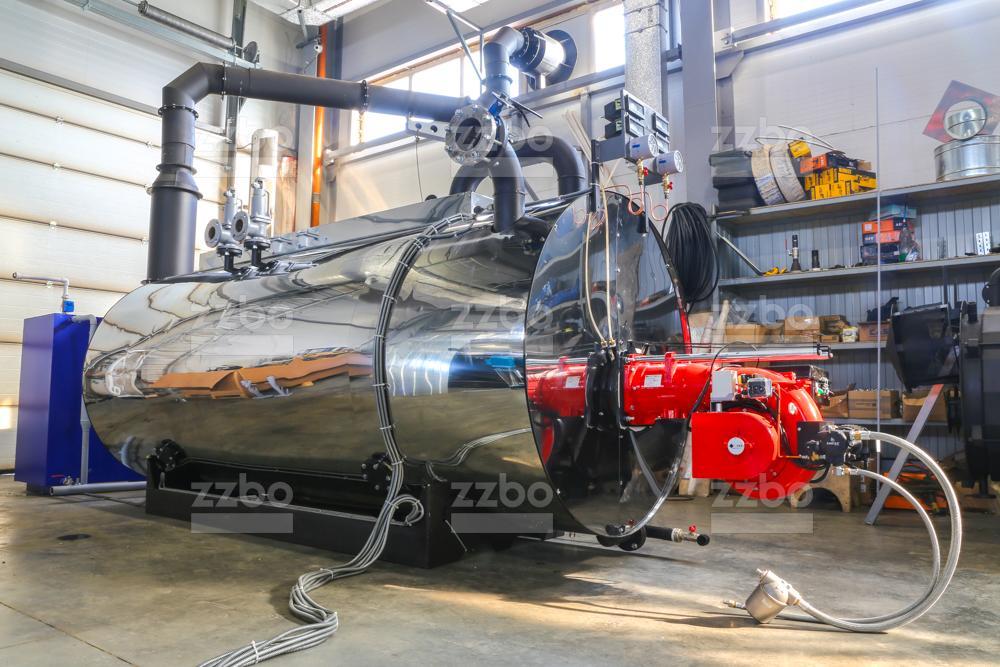 Дизельный парогенератор ПГ-2000 на раме - фото 6