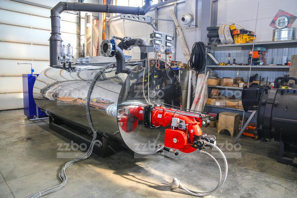 Газовый парогенератор ПГ-2000 на раме - фото 5