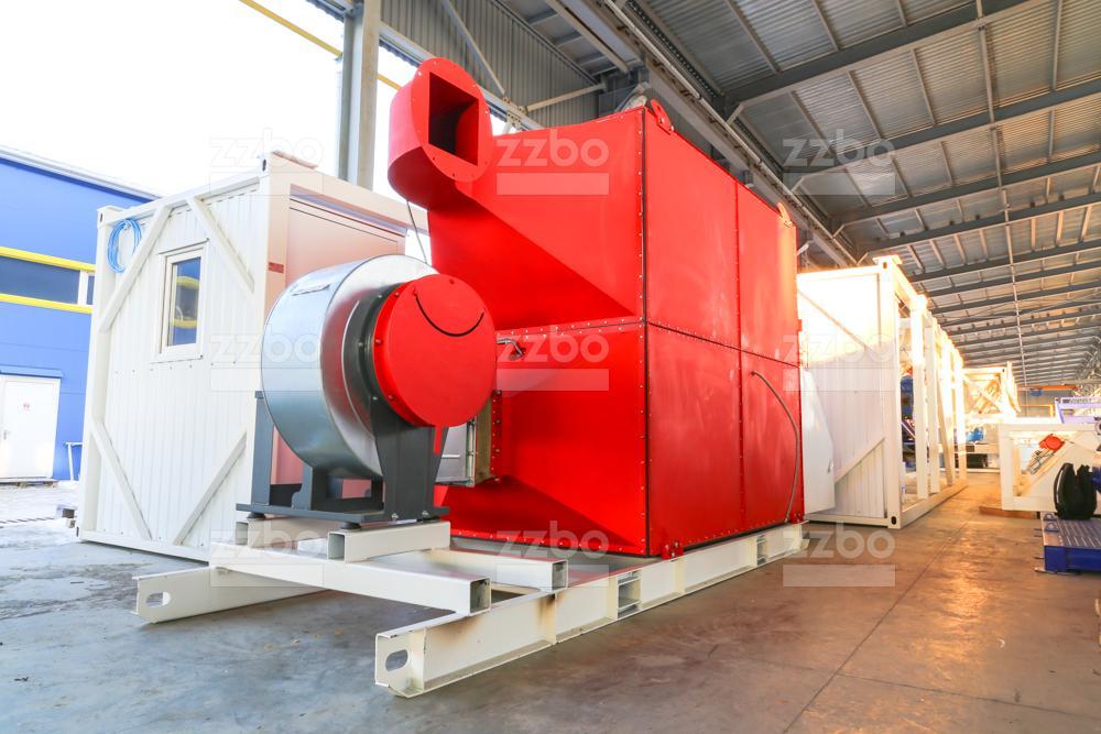 Дизельный теплогенератор ТГВ-800 </br>  в блок-контейнере - фото 9