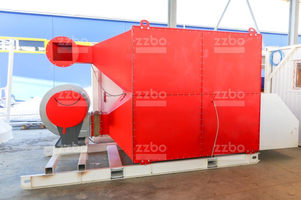 Газовый теплогенератор ТГВ-600 на раме - фото 7