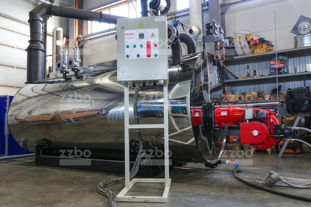 Дизельный парогенератор ПГ-2000 на раме - фото 1