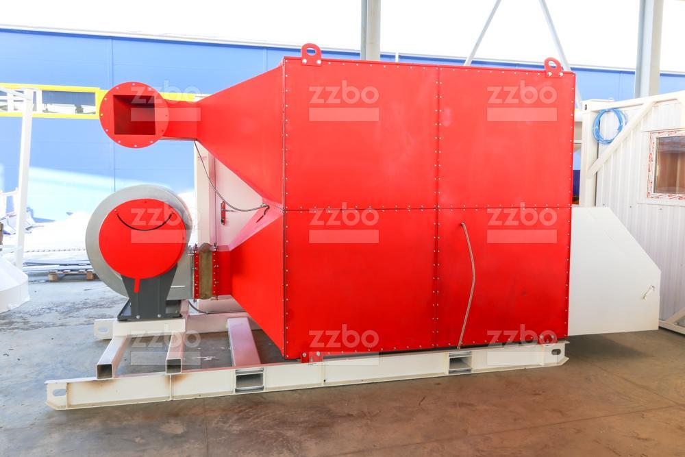 Дизельный теплогенератор ТГВ-800 </br>  в блок-контейнере