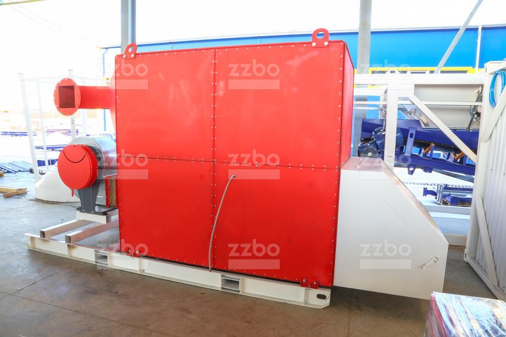 Газовый теплогенератор ТГВ-600 на раме - фото 5