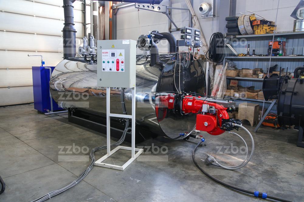 Газовый парогенератор ПГ-2000 на раме - фото 1
