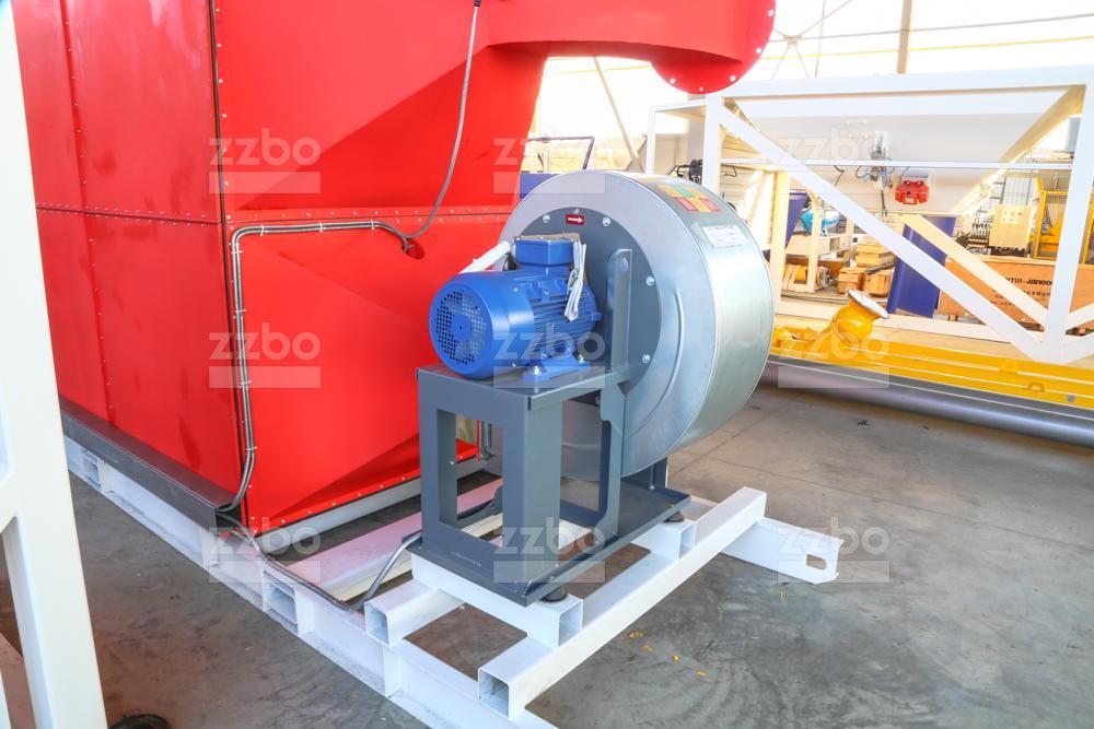 Газовый теплогенератор ТГВ-600 на раме - фото 3