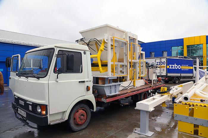 Секреты правильной доставки бетонных заводов ZZBO