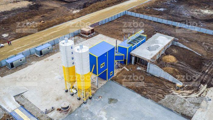 Обследование территории заказчика под размещение бетонного завода
