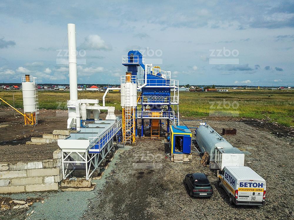 Асфальтобетонный завод БМЗ-80 - фото 1