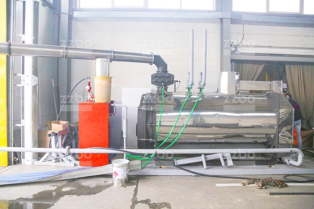 Дизельный парогенератор (среднего давления) ПГ-1000