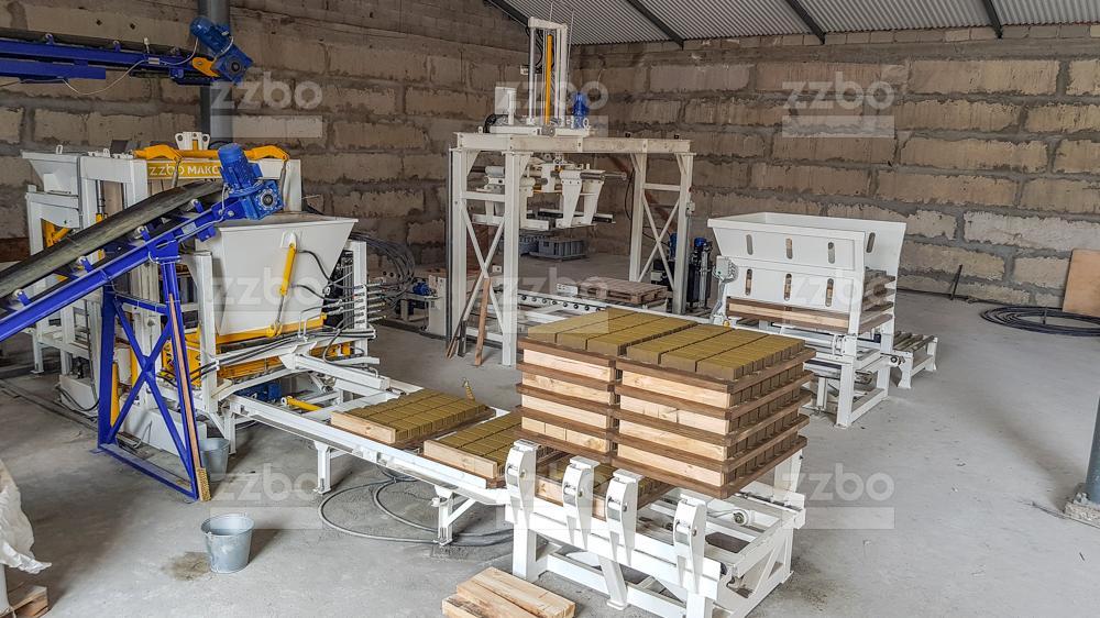 Автоматическая линия МАКСИМАЛ <br> на гидроподъемниках - фото 1