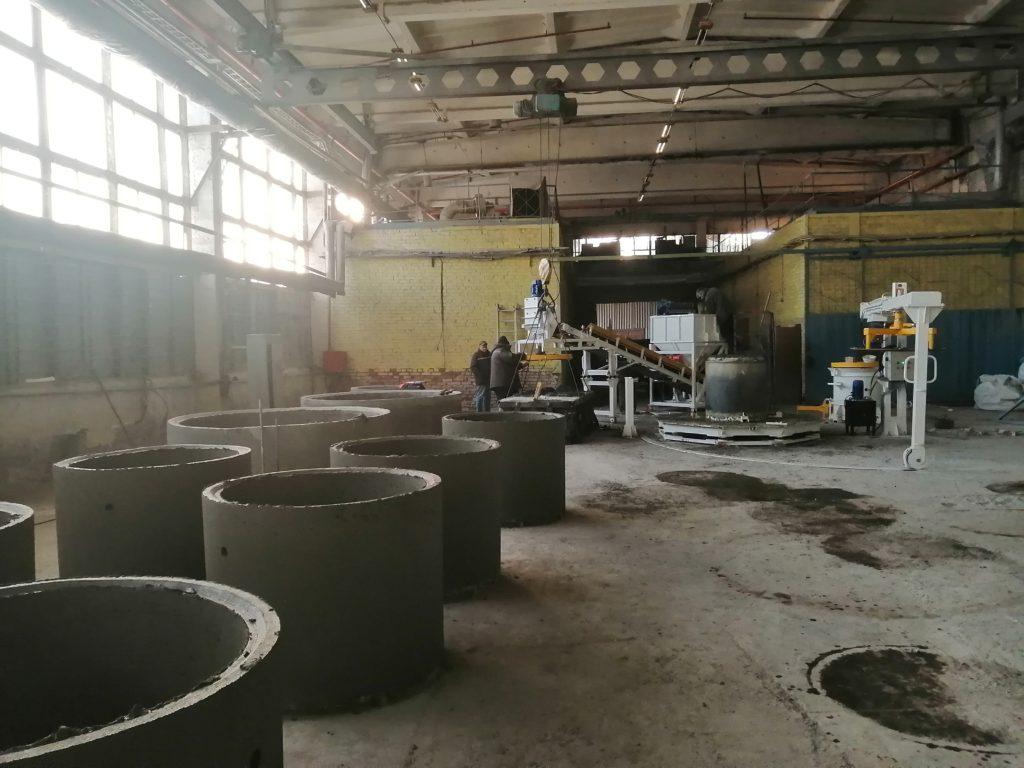 Вибропресс КС20 с бетоноукладчиком - фото 2