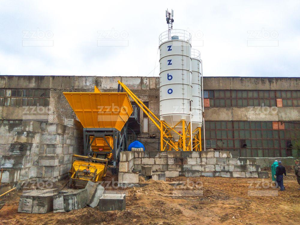 Бетонный завод  QUICK BETON-95