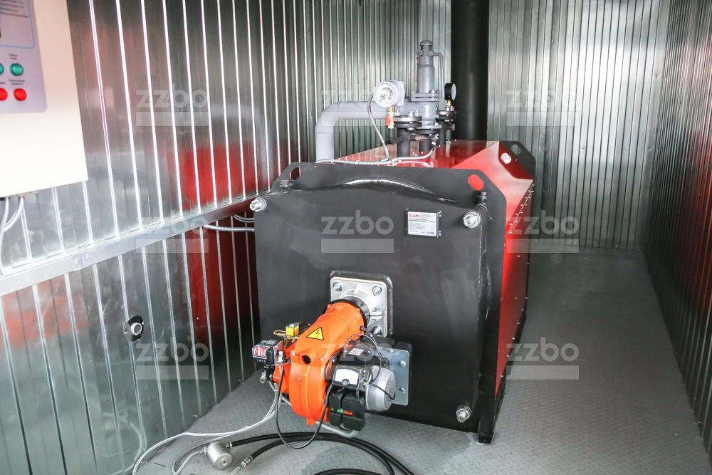 Газовый котёл водогрейный КВ-250 - фото 5