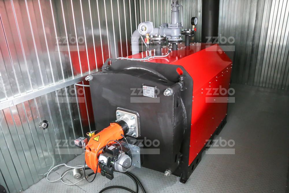 Газовый котёл водогрейный КВ-250