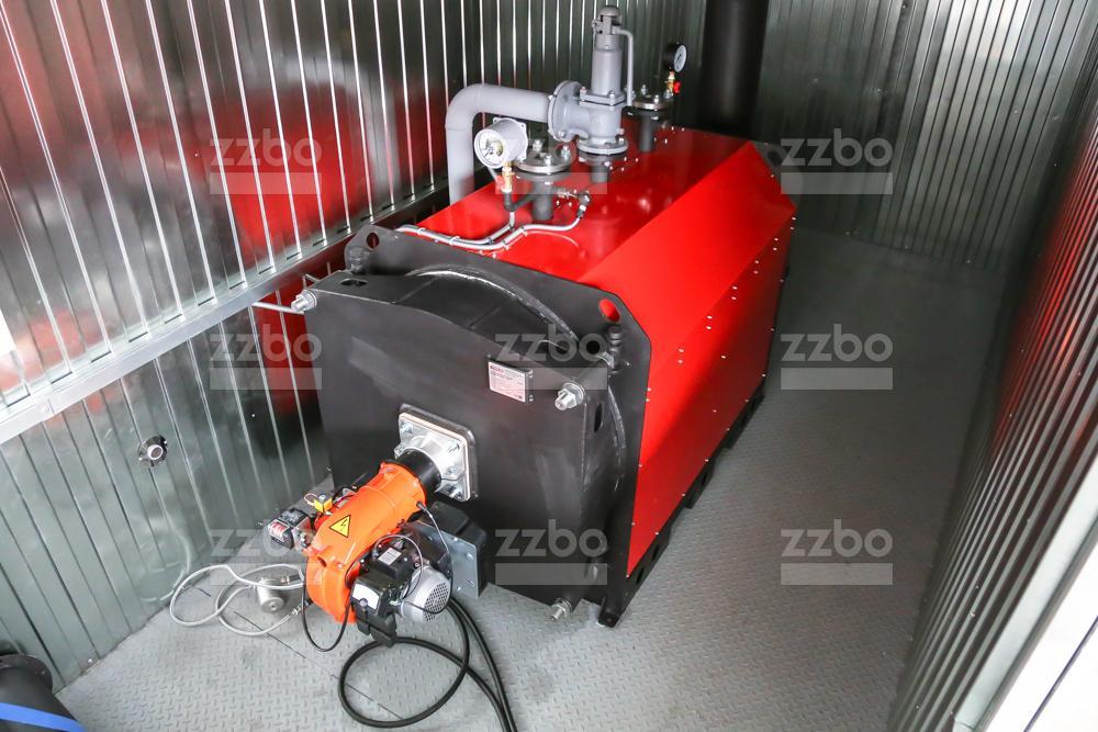 Газовый котёл водогрейный КВ-250 - фото 3