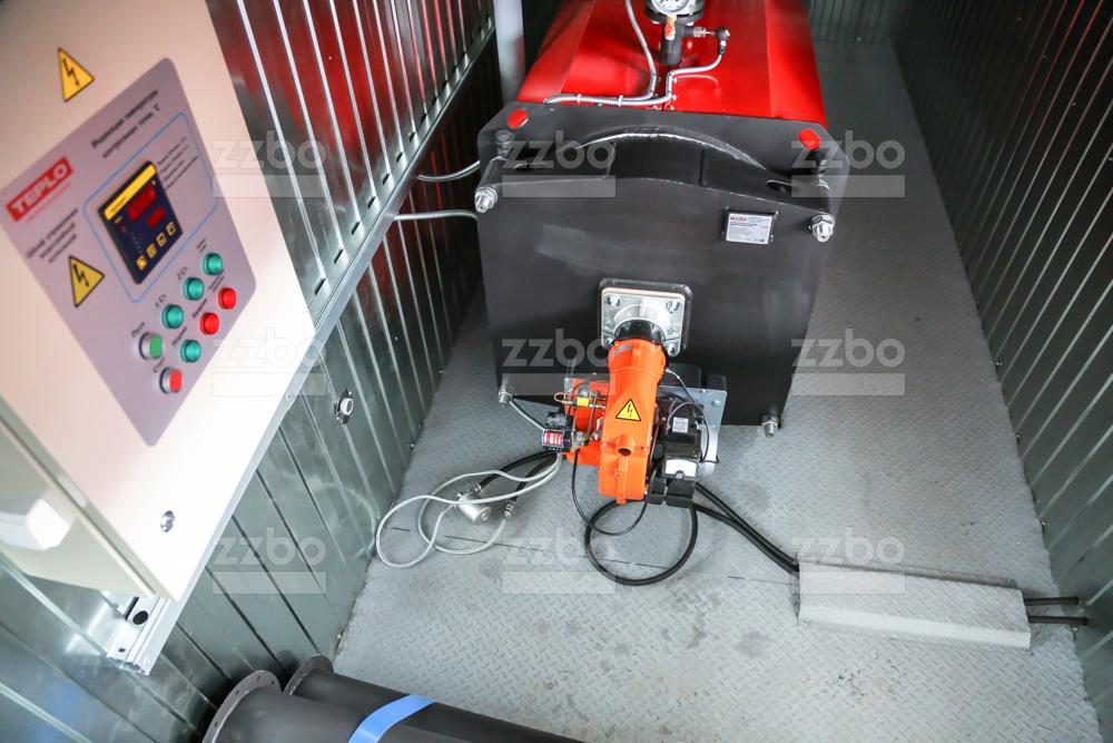 Газовый котёл водогрейный КВ-250 - фото 4