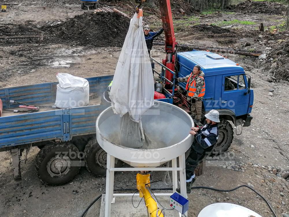 Растариватель биг-бегов цемента РМК-2М - фото 2