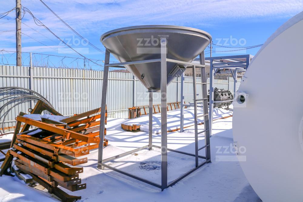Растариватель биг-бегов цемента РМК-2МР - фото 1