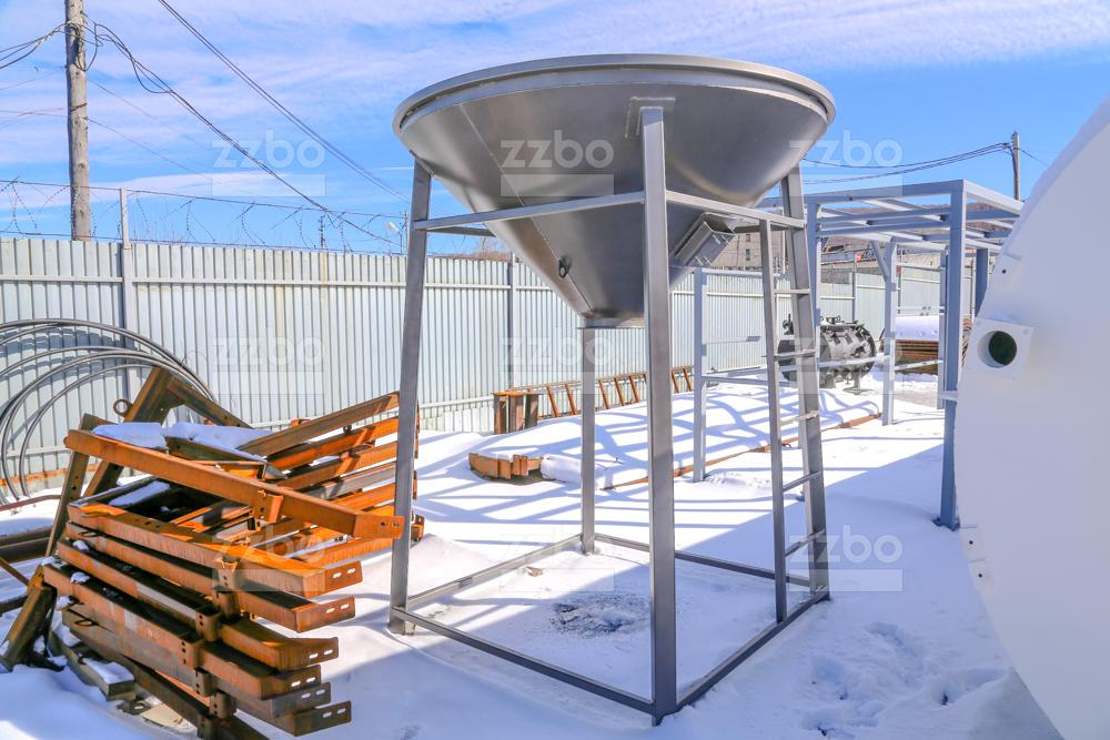Растариватель биг-бегов цемента РМК-2МР - фото 7