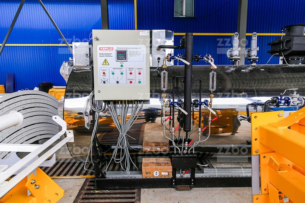 Газовый парогенератор </br> (среднего давления) ПГ-2000