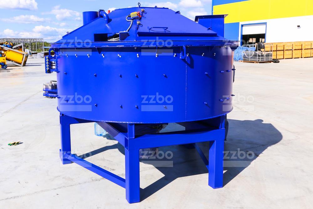 Одновальный бетоносмеситель БП-1В-1500 - фото 2