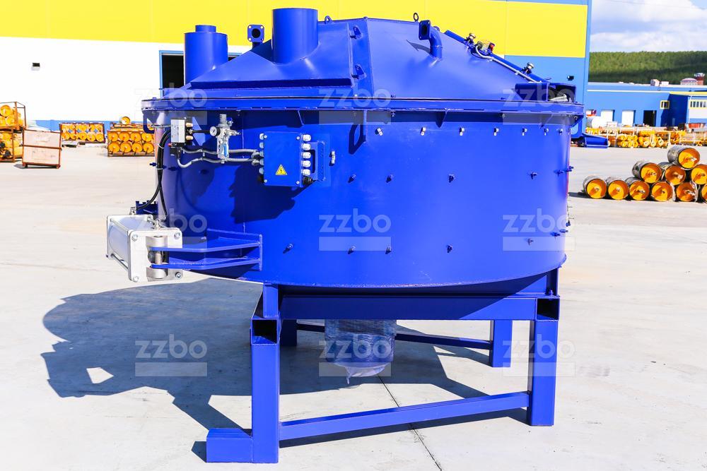 Одновальный бетоносмеситель БП-1В-1500 - фото 3
