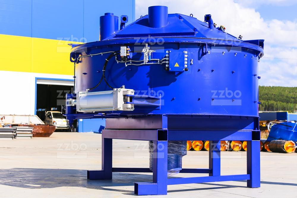Одновальный бетоносмеситель БП-1В-1500