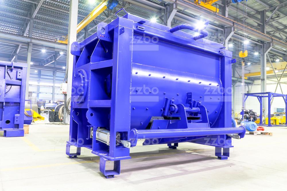 Одновальный бетоносмеситель БП-1Г-1500 - фото 5