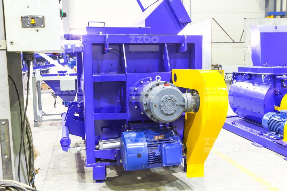 Одновальный бетоносмеситель БП-1Г-1500 - фото 3