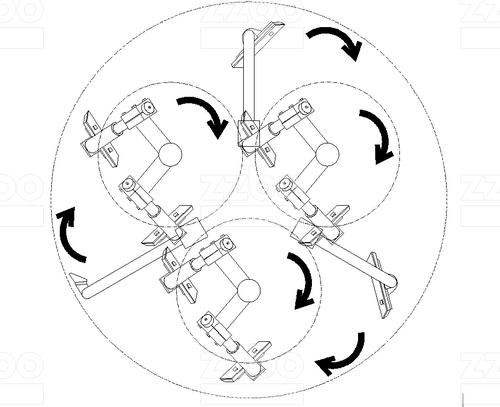 Бетоносмеситель планетарный <br> противоточный БПП-3В-2250