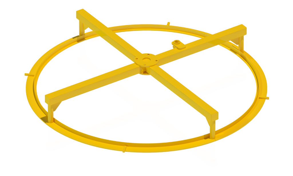 Пуансон затирочный плоский на 20 форму