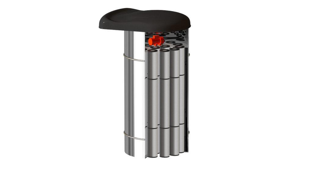 Фильтр цемента из нержавеющей стали <br> FCS-24NEON с установочным кольцом - фото 13